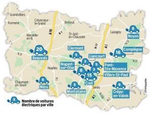 Parisien_article-23-03-2016_carte-Oise-véhicule-électrique-par-ville
